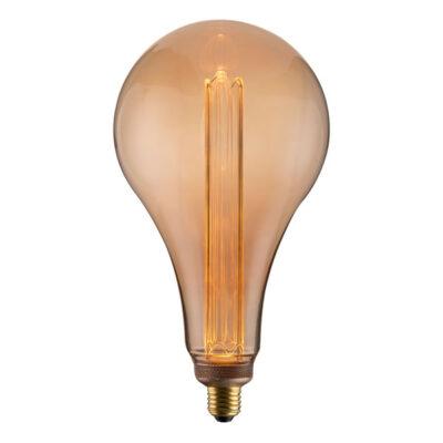 エジソンバルブLEDノスタルジアBIGノーマル。LED電球。A形。大きい、ラージ、グランデ、メガサイズ
